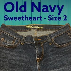 Sweetheart Old Navy Jeans 👖 Size 2 Excellent Cond